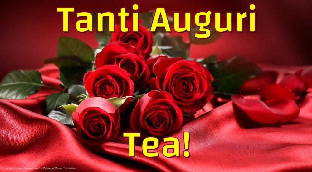 Cartoline di auguri | Tanti Auguri Tea!