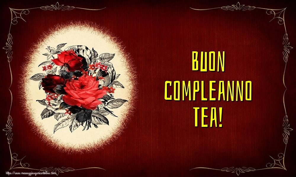 Cartoline di auguri | Buon compleanno Tea!