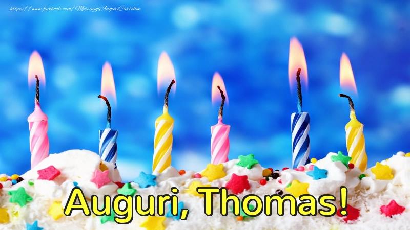 Cartoline di auguri | Auguri, Thomas!
