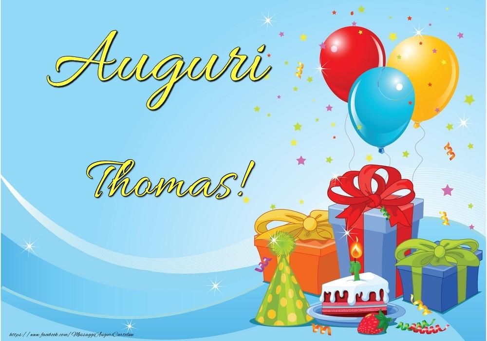 Cartoline di auguri | Auguri Thomas!