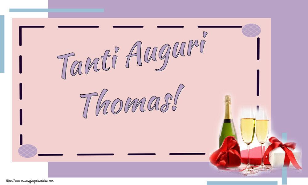 Cartoline di auguri | Tanti Auguri Thomas!