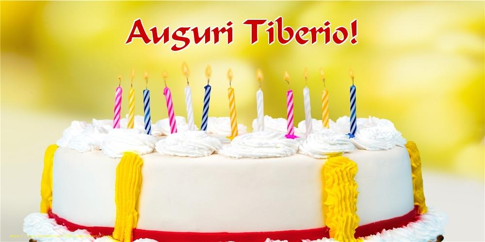 Cartoline di auguri   Auguri Tiberio!
