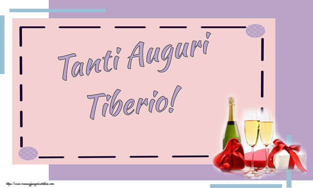 Cartoline di auguri   Tanti Auguri Tiberio!