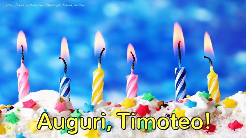 Cartoline di auguri   Auguri, Timoteo!