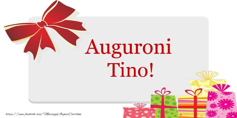 Cartoline di auguri | Auguroni Tino!