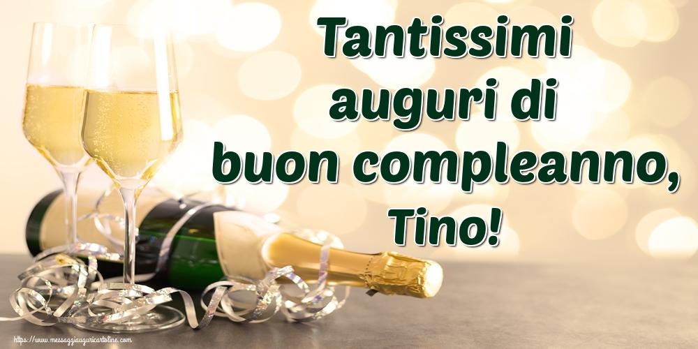 Cartoline di auguri | Tantissimi auguri di buon compleanno, Tino!