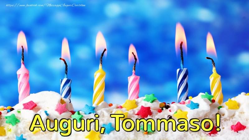 Cartoline di auguri | Auguri, Tommaso!