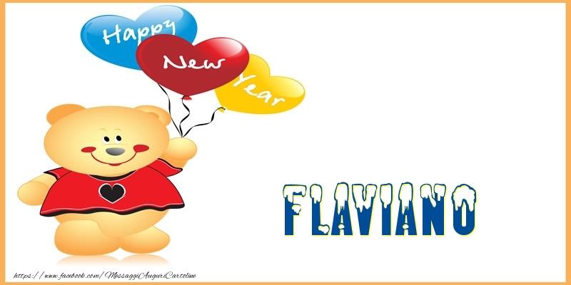 Cartoline di buon anno   Happy New Year Flaviano!