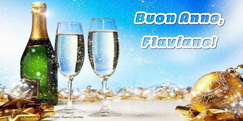 Cartoline di buon anno   Buon Anno, Flaviano!
