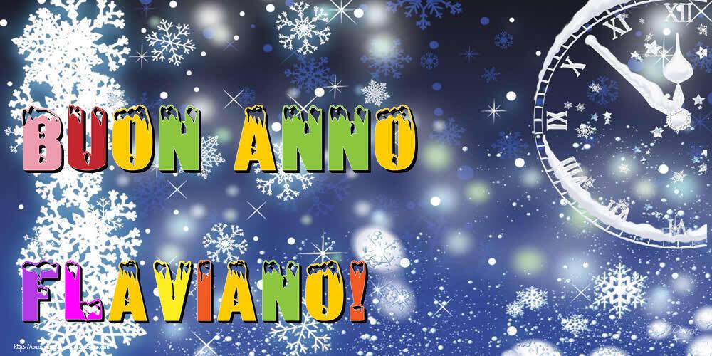Cartoline di buon anno   Buon Anno Flaviano!