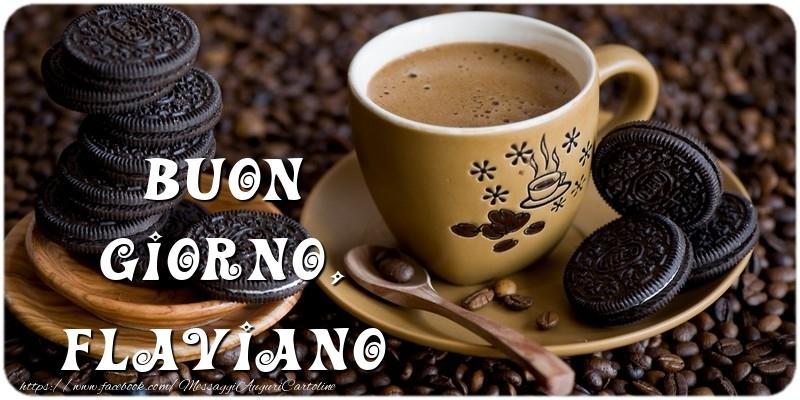 Cartoline di buongiorno   Buon Giorno, Flaviano
