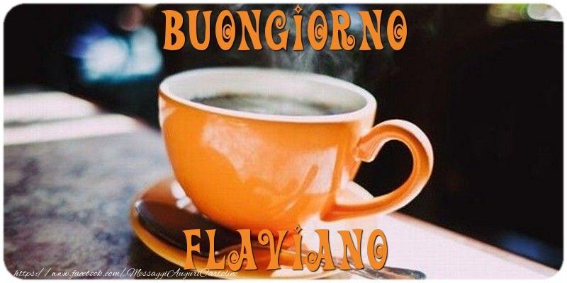 Cartoline di buongiorno   Buongiorno Flaviano