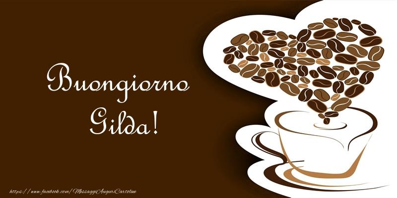 Cartoline di buongiorno | Buongiorno Gilda!