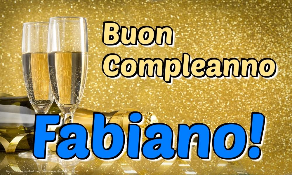Cartoline di compleanno   Buon Compleanno Fabiano!