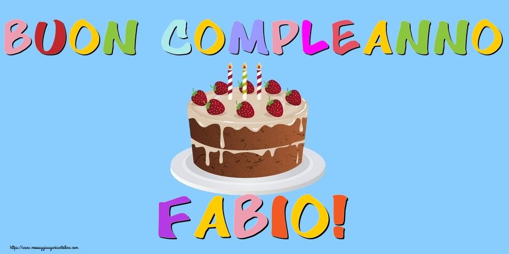 Cartoline di compleanno   Buon Compleanno Fabio!