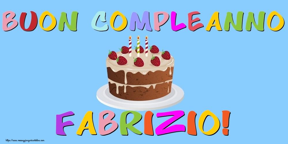 Cartoline di compleanno | Buon Compleanno Fabrizio!