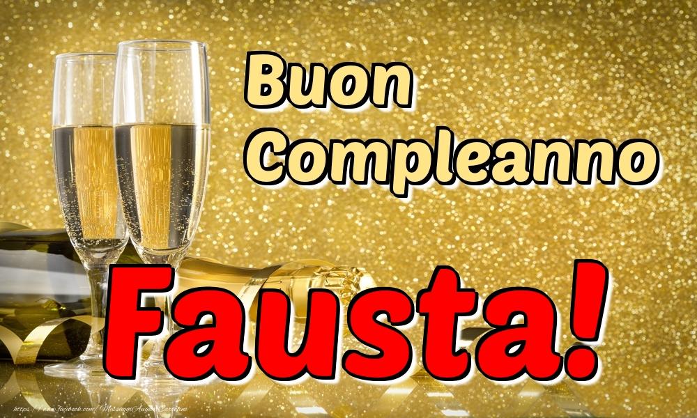 Cartoline di compleanno | Buon Compleanno Fausta!