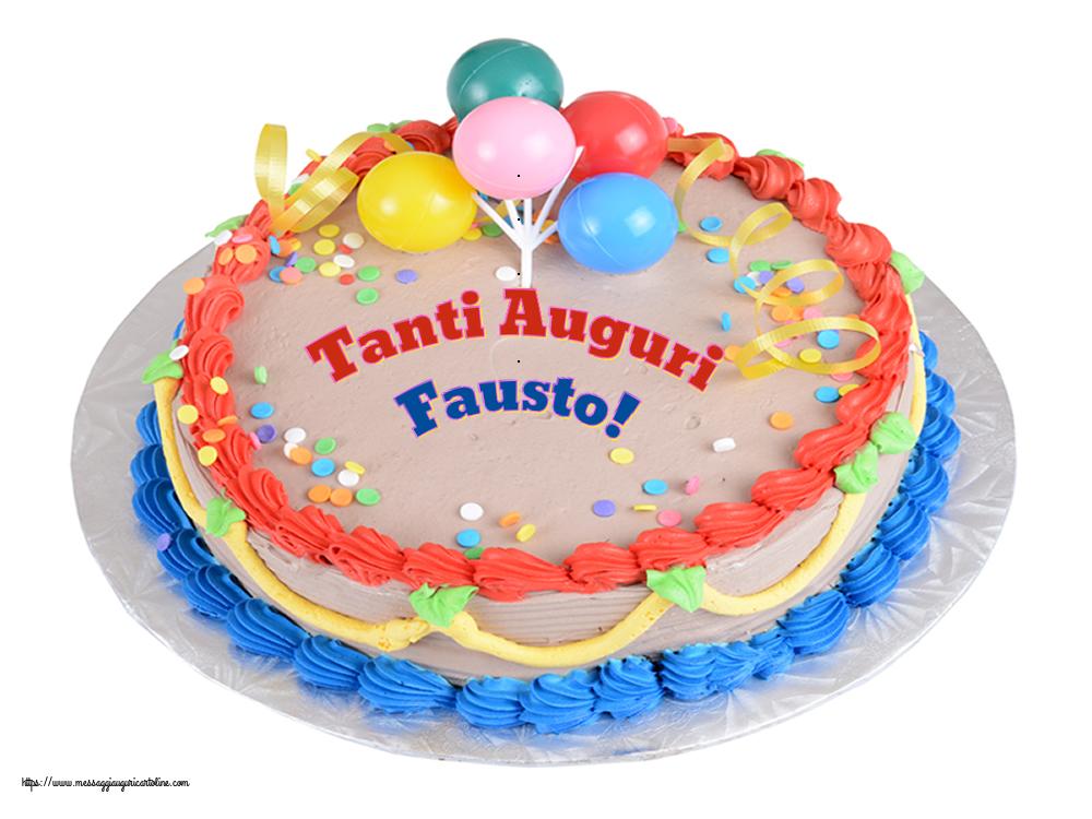 Cartoline di compleanno | Tanti Auguri Fausto!