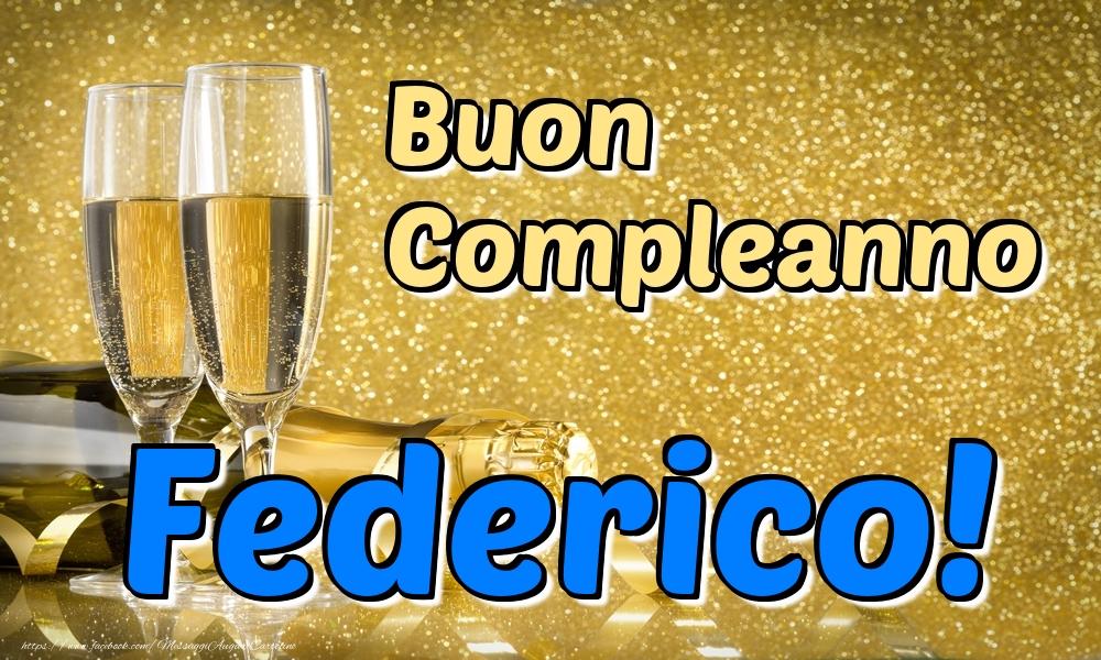 Cartoline di compleanno | Buon Compleanno Federico!
