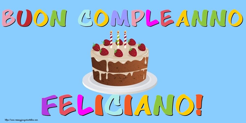 Cartoline di compleanno | Buon Compleanno Feliciano!