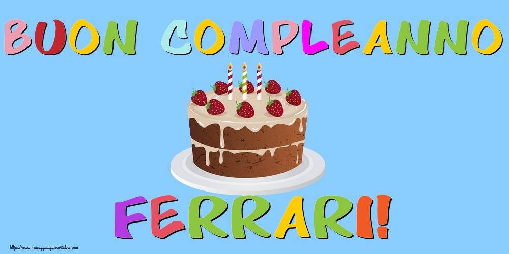 Cartoline di compleanno | Buon Compleanno Ferrari!