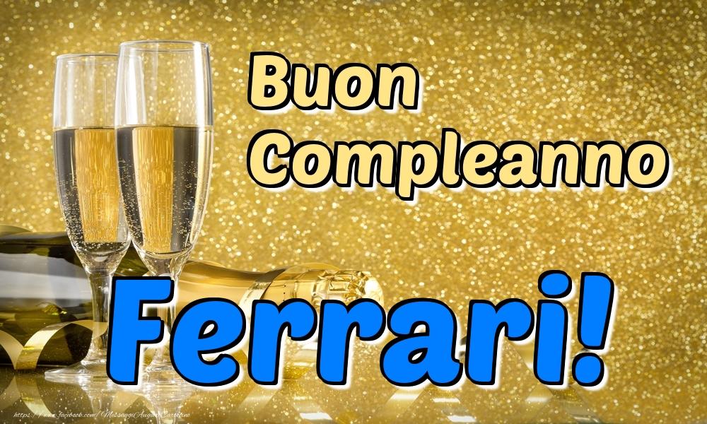 Cartoline di compleanno   Buon Compleanno Ferrari!