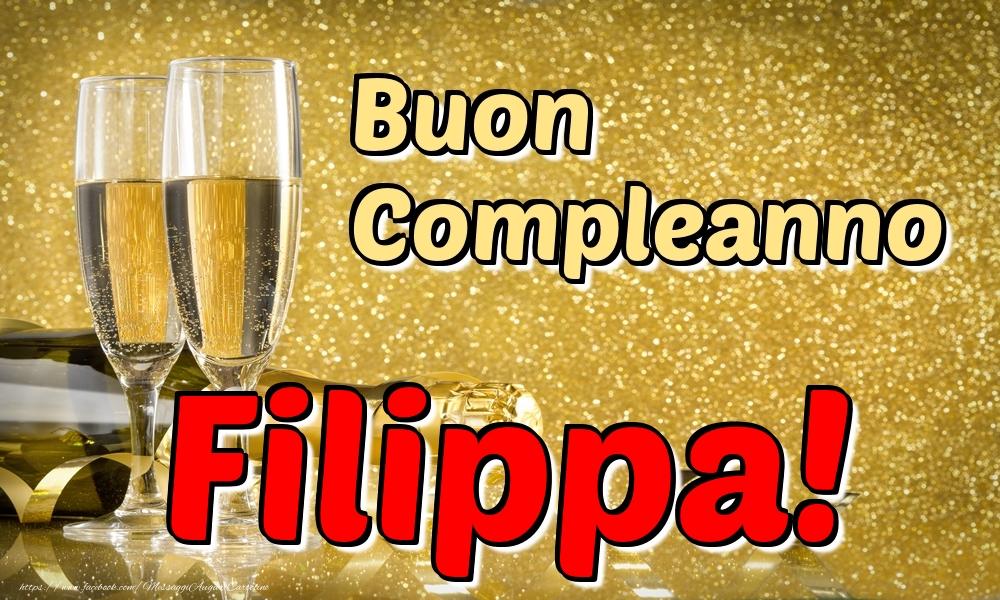 Cartoline di compleanno | Buon Compleanno Filippa!