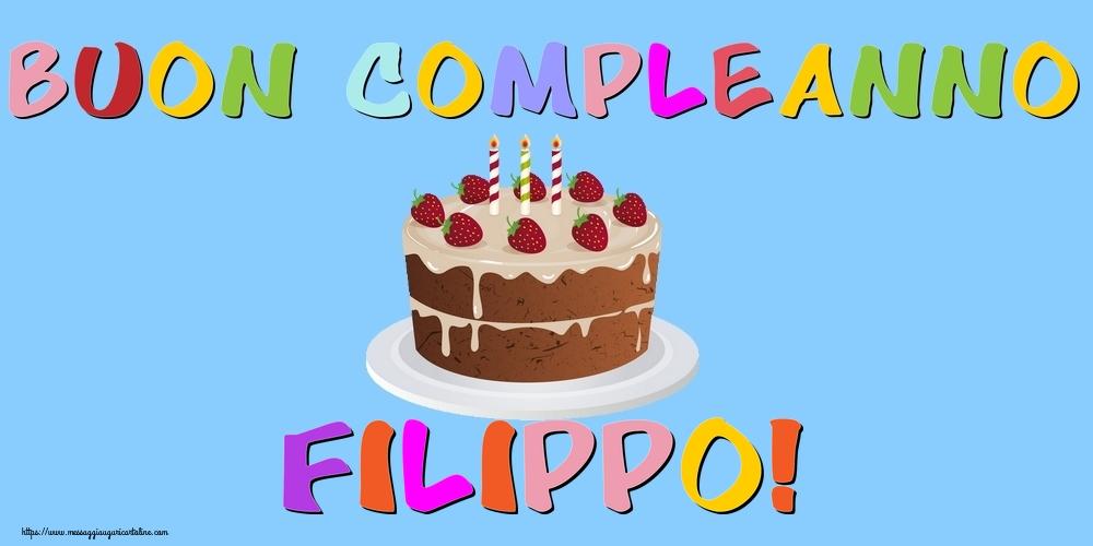 Cartoline di compleanno | Buon Compleanno Filippo!