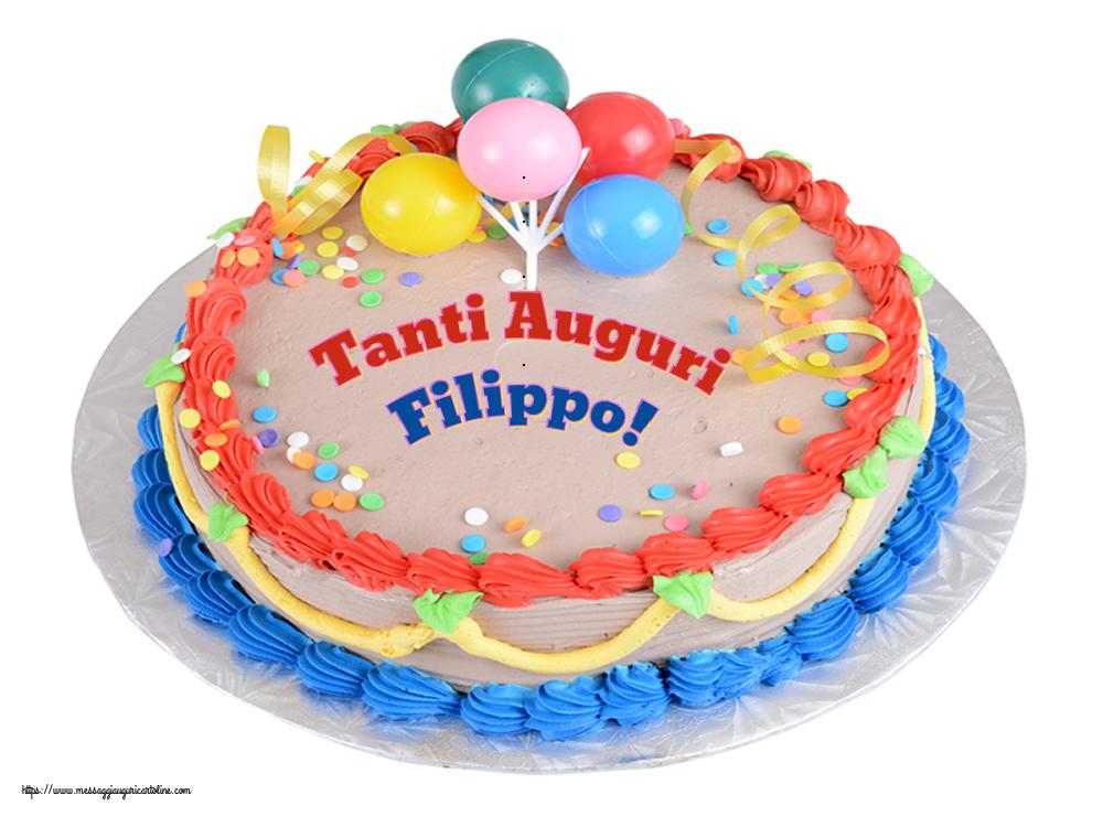 Cartoline di compleanno | Tanti Auguri Filippo!