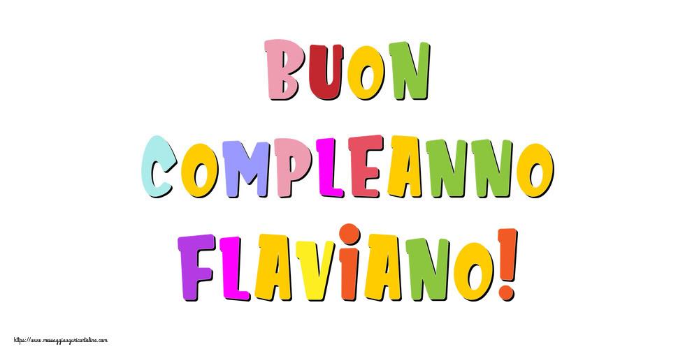 Cartoline di compleanno | Buon compleanno Flaviano!