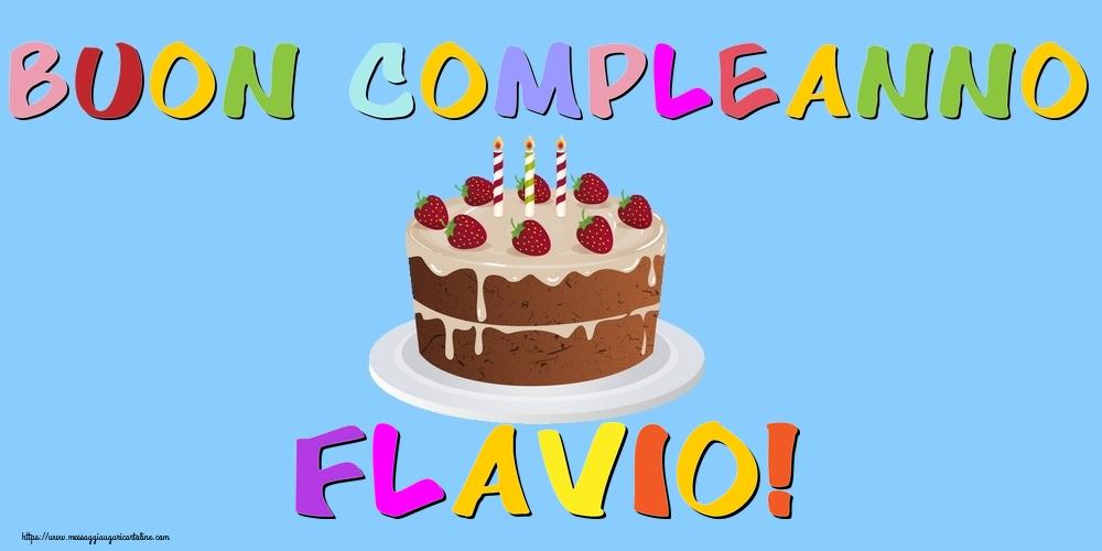 Cartoline di compleanno | Buon Compleanno Flavio!