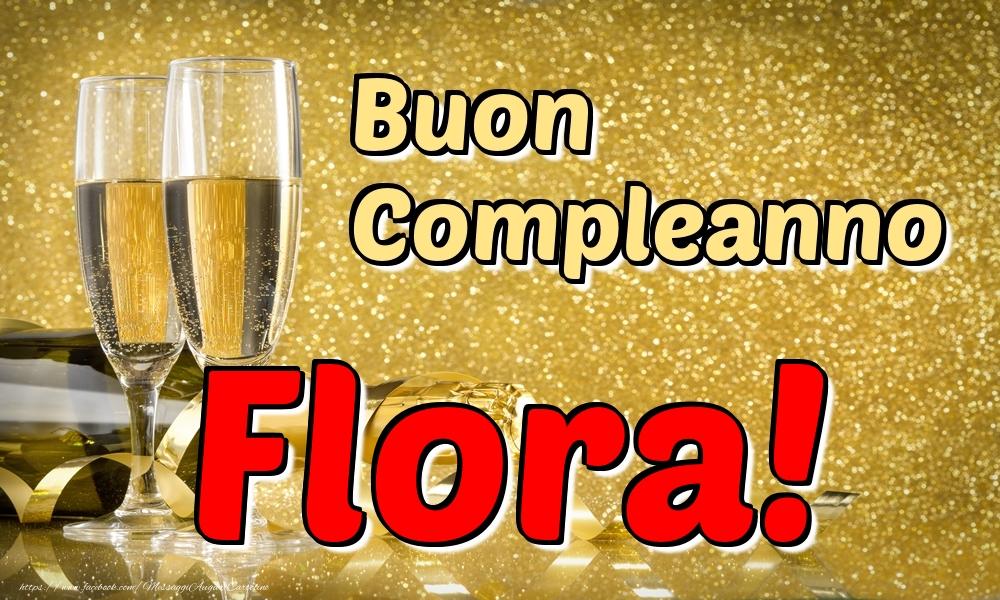 Cartoline di compleanno | Buon Compleanno Flora!