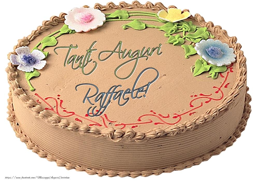 Cartoline di compleanno   Raffaele - Tanti Auguri! - Torta