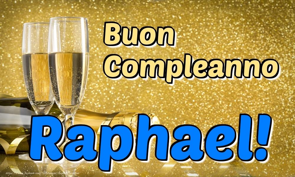 Cartoline di compleanno   Buon Compleanno Raphael!
