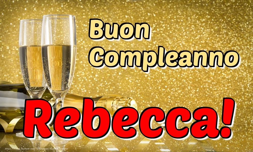 Cartoline di compleanno   Buon Compleanno Rebecca!