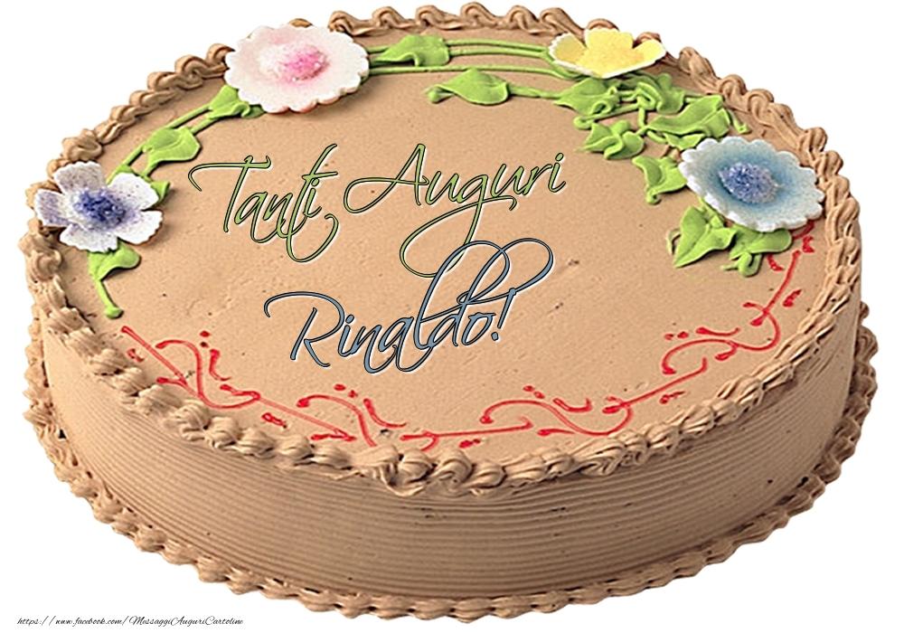 Cartoline di compleanno   Rinaldo - Tanti Auguri! - Torta