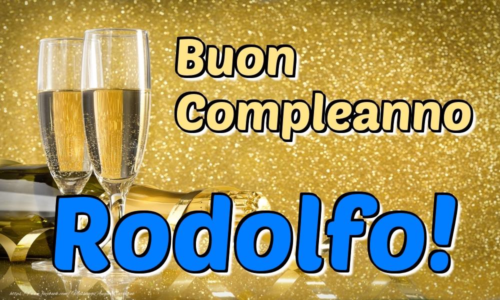 Cartoline di compleanno   Buon Compleanno Rodolfo!