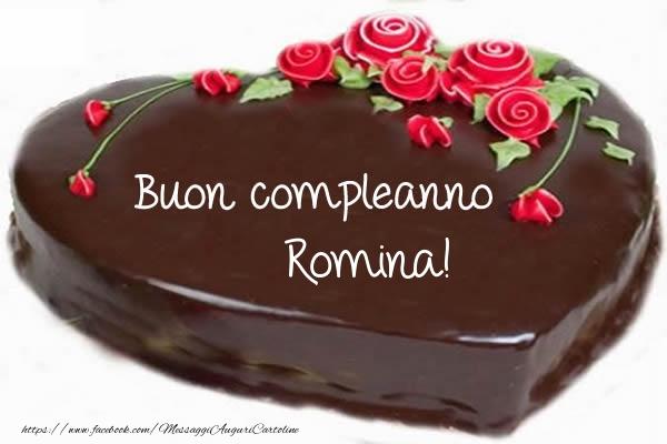 Cartoline di compleanno   Buon compleanno Romina!