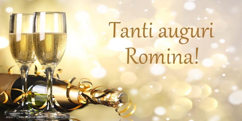 Cartoline di compleanno   Tanti auguri Romina!