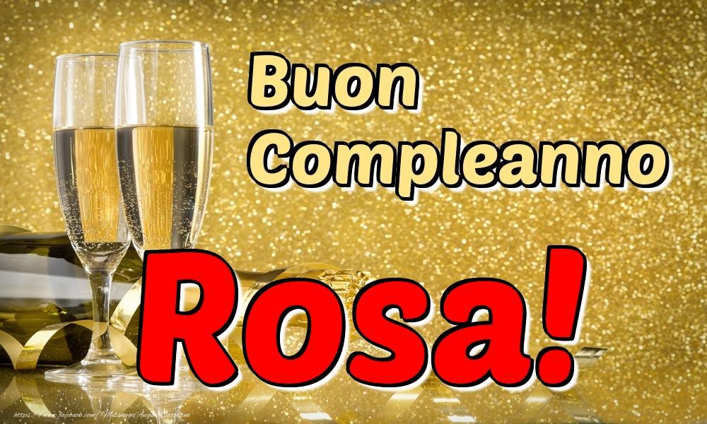 Cartoline di compleanno | Buon Compleanno Rosa!