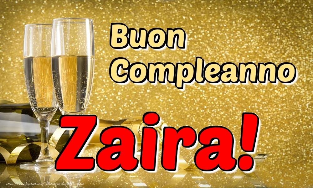 Cartoline di compleanno | Buon Compleanno Zaira!