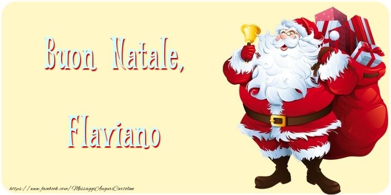 Cartoline di natale   Buon Natale, Flaviano