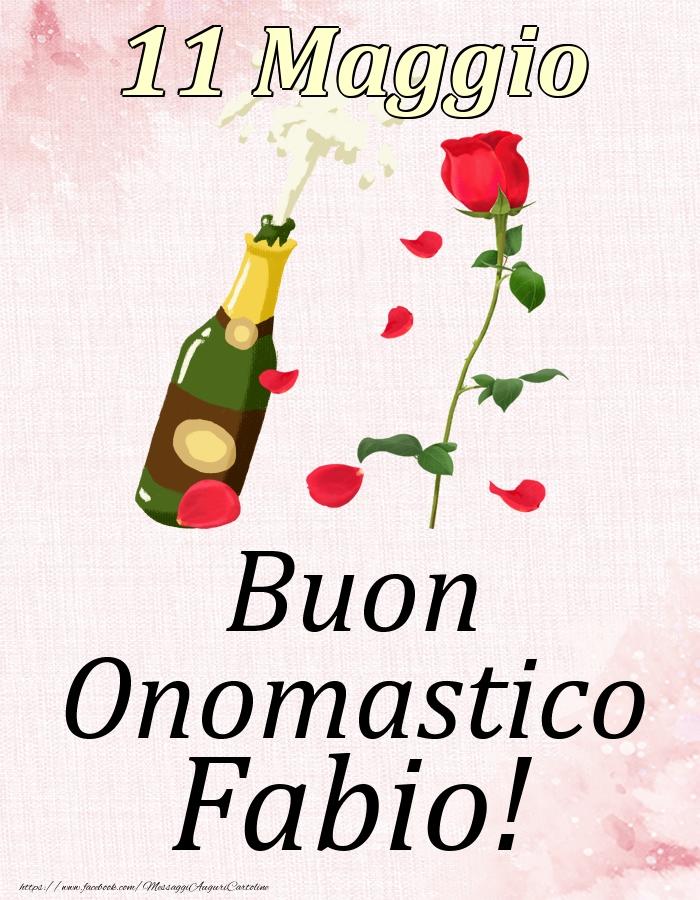 Cartoline di onomastico   Buon Onomastico Fabio! - 11 Maggio