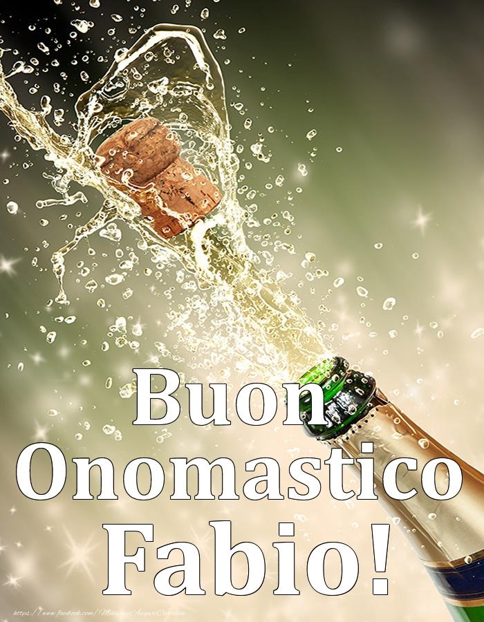 Cartoline di onomastico   Buon Onomastico Fabio!