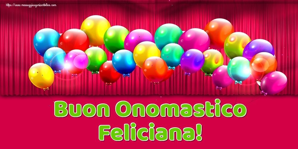 Cartoline di onomastico | Buon Onomastico Feliciana!