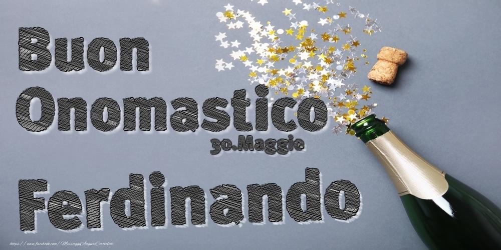 Cartoline di onomastico | 30.Maggio - Buon Onomastico Ferdinando!