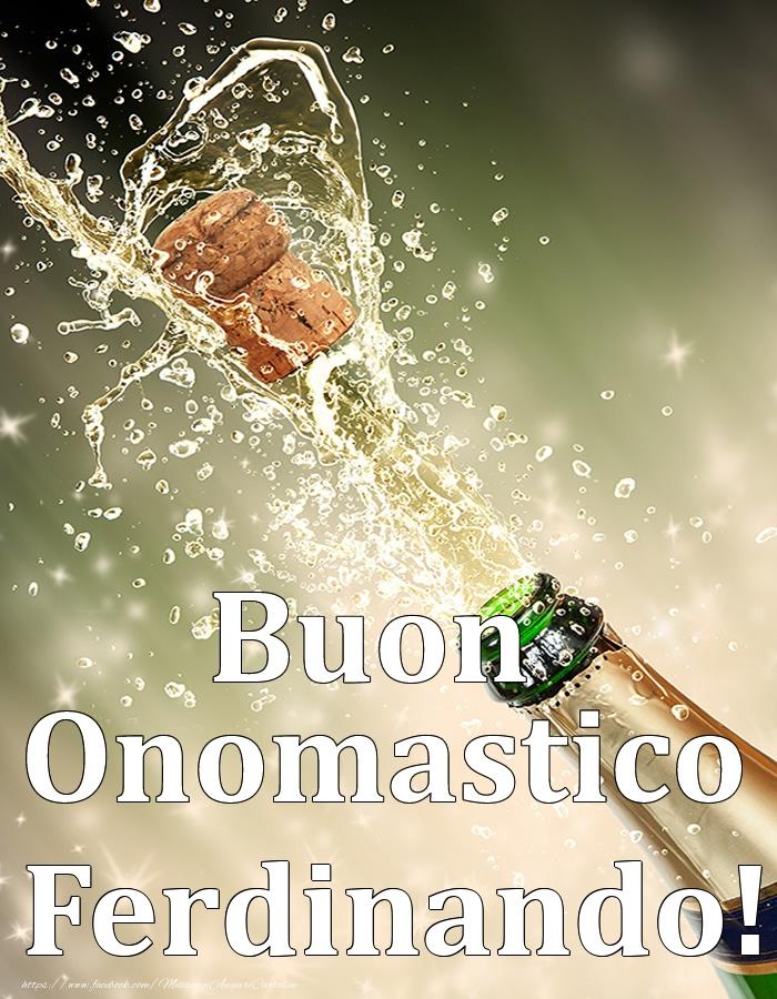 Cartoline di onomastico | Buon Onomastico Ferdinando!