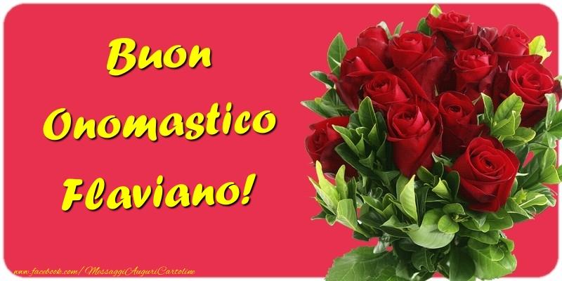 Cartoline di onomastico | Buon Onomastico Flaviano