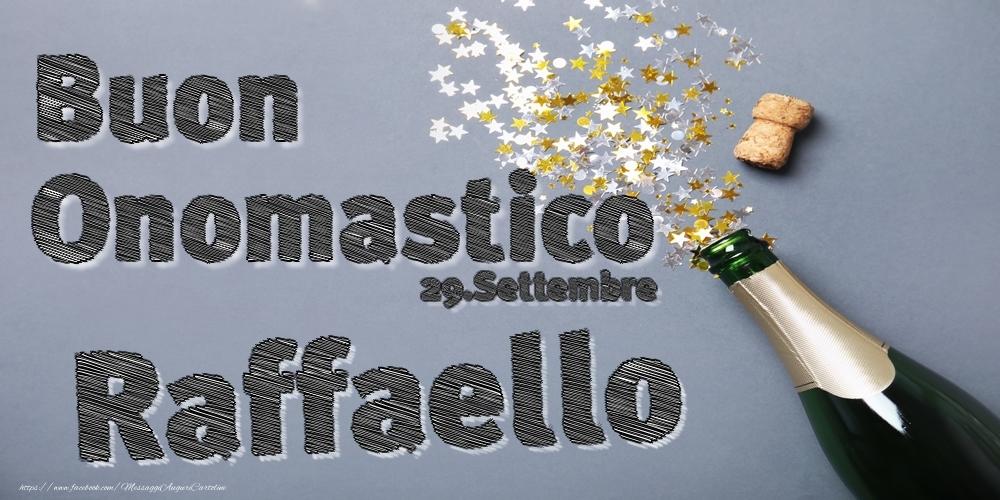 Cartoline di onomastico | 29.Settembre - Buon Onomastico Raffaello!