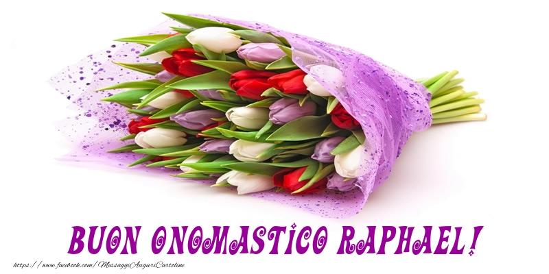 Cartoline di onomastico   Buon Onomastico Raphael!